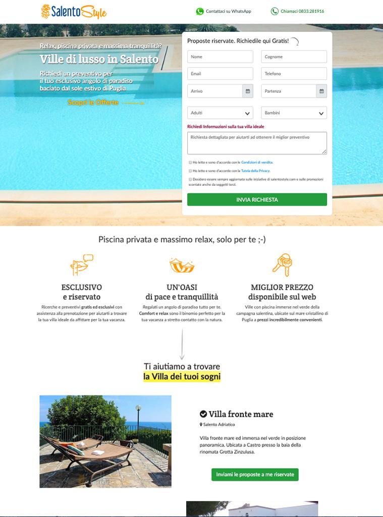 Landing Page Turismo